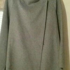 Like new - VINCE wool sweater coat